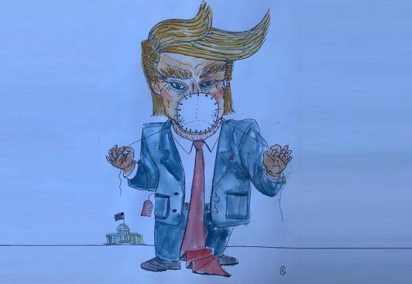 Caricatura: Recomendaciones republicanas para la segunda ola del virus