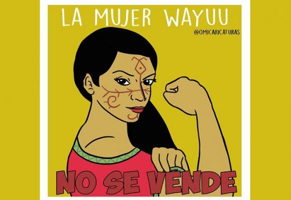 Caricatura: ¡La mujer wayúu no se vende!