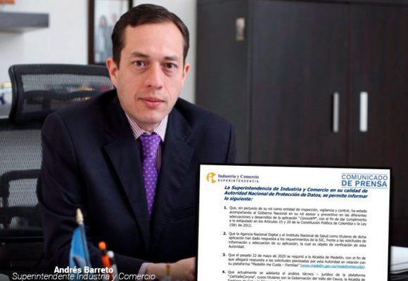 Superintendente Barreto se autoempodera con manejo de datos personales