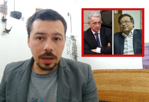 VIDEO: Uribe se reinventa a Petro