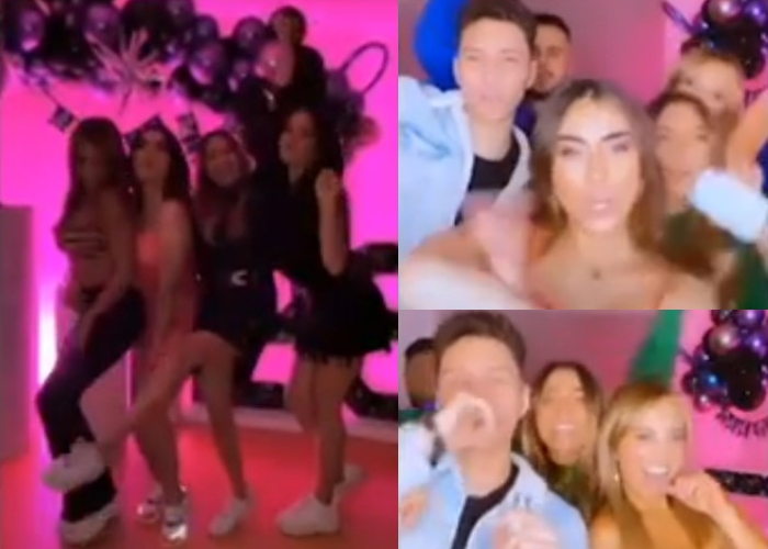 VIDEO: La rumba de influencers en Bogotá en plena pandemia