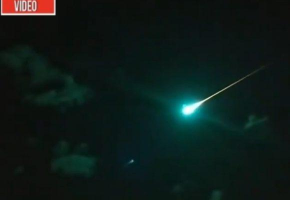 VIDEO: El impresionante meteorito que cayó en Australia