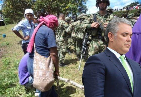 ¿Hacia dónde mira el gobierno mientras asesinan líderes y defensores en el campo?