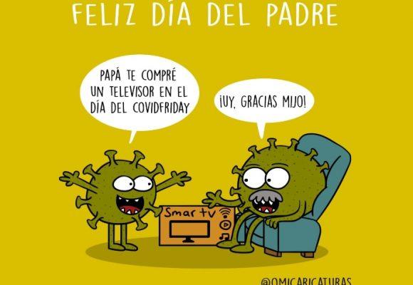 Caricatura: Feliz día del padre