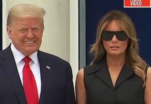 VIDEO: ¿Desprecio de Trump a su esposa Melania?