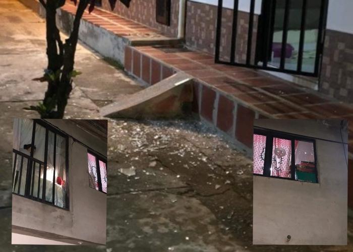 Delincuentes apedrean vivienda de funcionaria de Santander de Quilichao