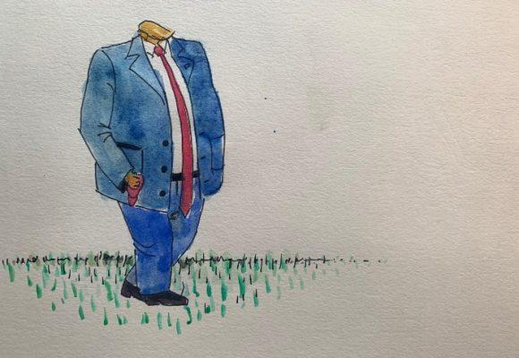 Caricatura: Trump