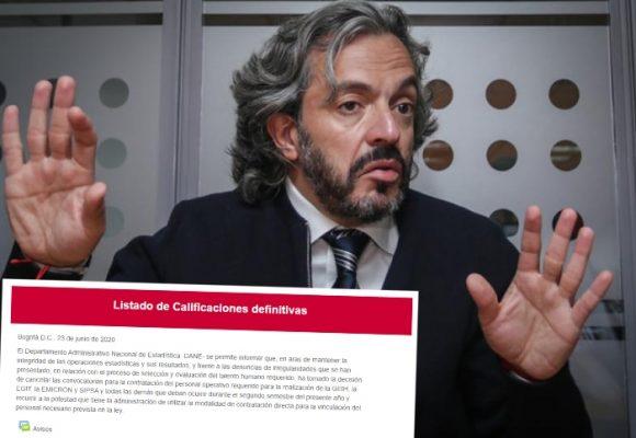 La convocatoria del DANE que defraudó a miles de colombianos jóvenes