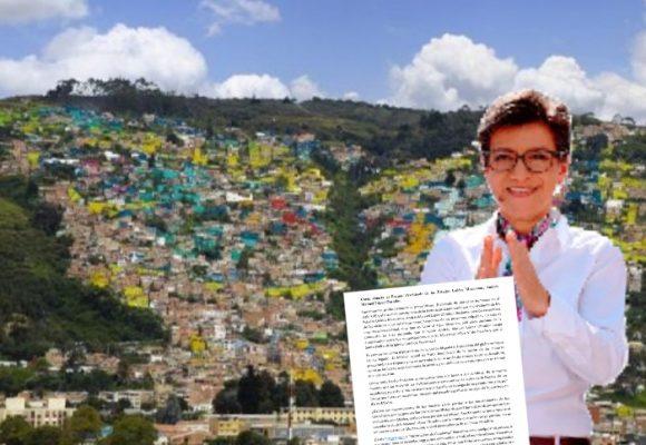SOS por Usaquén: Carta abierta a la alcaldesa Claudia López