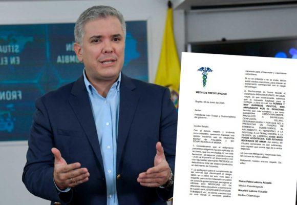 Carta abierta de médicos preocupados al presidente Duque