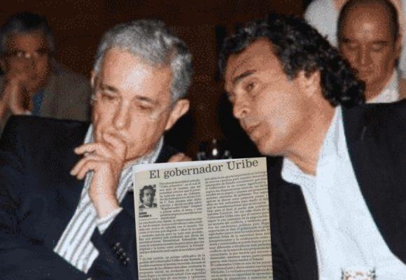 Cuando Fajardo le tiraba flores a Uribe en sus columnas de opinión