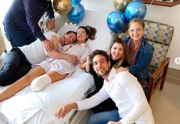 Daniella Álvarez publica fotos tras cirugía en la que amputaron su pierna