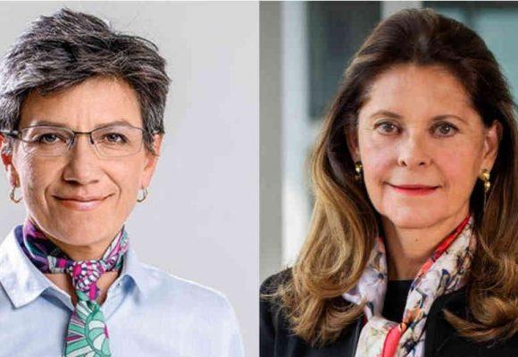 Aguacero de insultos a Claudia López por defender a la Vicepresidenta
