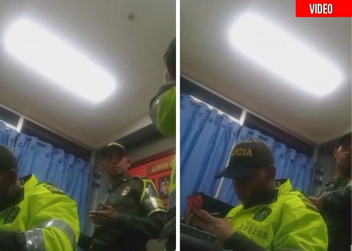 Video donde policía confiesa que le piden hacer 38 comparendos diarios