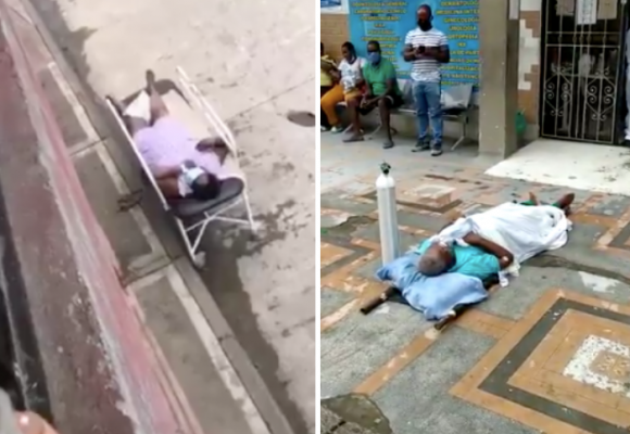 En el Choco los pacientes agonizan en las calles esperando ser atendidos