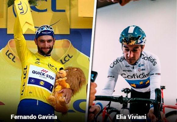 El ciclista italiano que le hizo la vida imposible a Fernando Gaviria