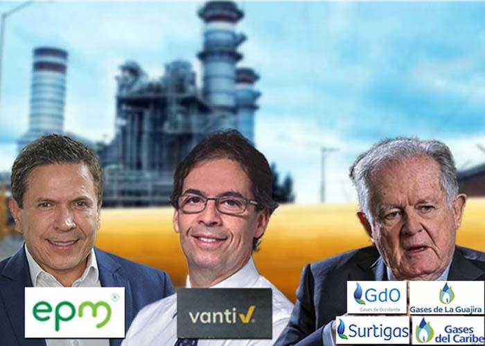 El gas de los hogares en manos de tres grandes: Luis C. Sarmiento, EPM y Brookfield