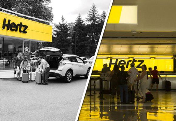 Se reventó Hertz, el gigante del alquiler de carros