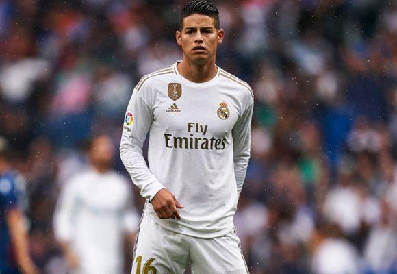 Zidane le da el chance pero James demuestra que el Madrid le queda grande