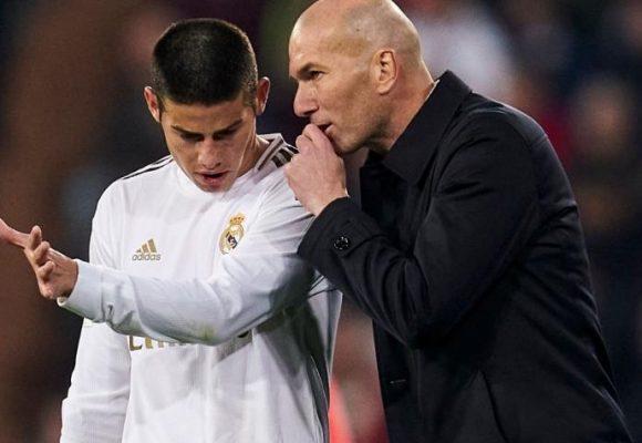 ¿Y si James manda al carajo a Zidane?