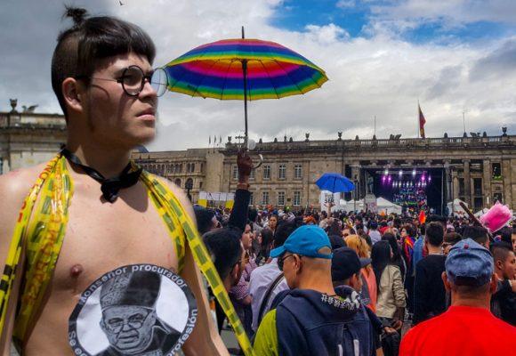 Juli Salamanca, la líder trans que no le come cuento a Claudia López