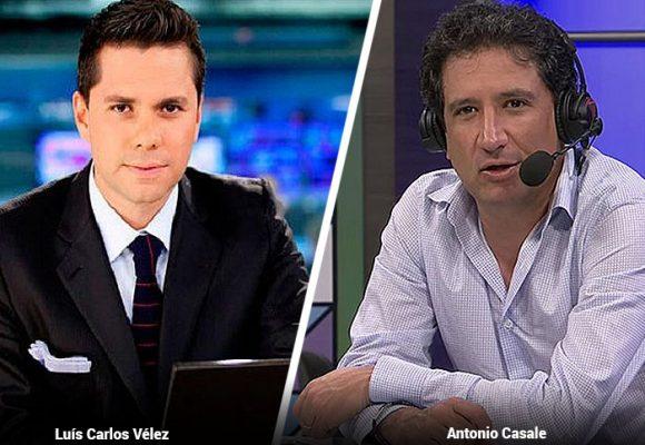 Le dan palo a Antonio Casale por meter en los deportes a Luis Carlos Vélez