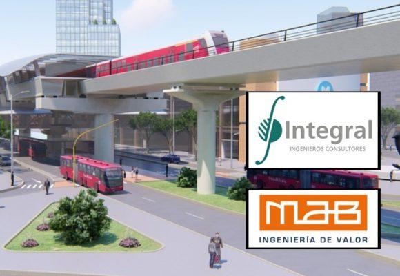 Entre estos 3 consorcios se escogerá el interventor de la Primera Línea del Metro de Bogotá