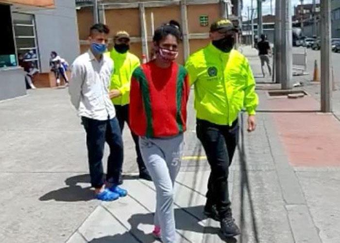 Los esposos venezolanos que quemaron hasta matar a su pequeño hijo en Bogotá
