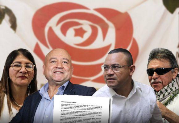 La división del partido Farc tiene nombre y apellido: Carlos Antonio Lozada