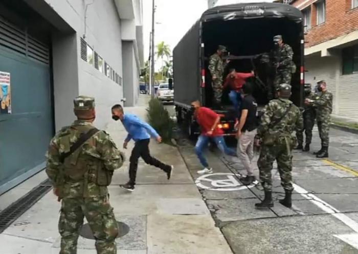 VIDEO: Estos son los soldados que abusaron de la niña embera