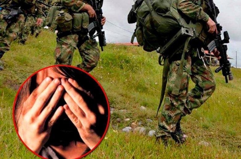 Denuncian otra niña indígena violada por soldados en Colombia