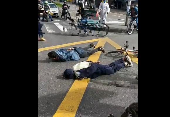 Trabajadores de Transmilenio explotaron ante el maltrato de la alcaldía