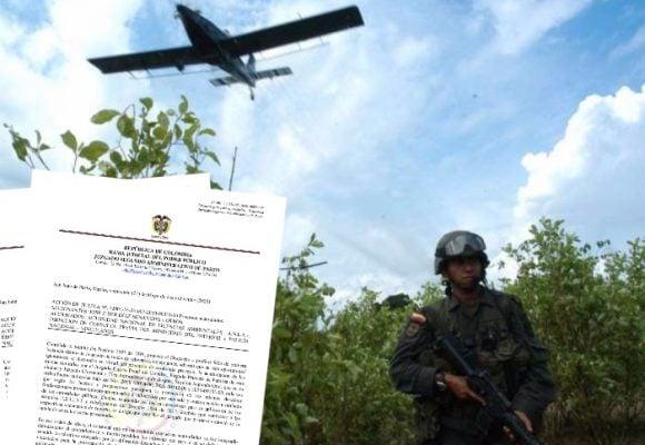 Con las tropas gringas ya en Colombia, juez frena la fumigación