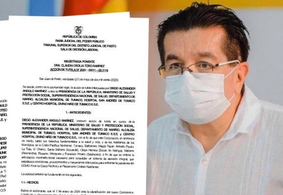 Tutelazo obliga a Minsalud a enviar respiradores a Tumaco