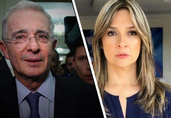 El palo que le están dando a Vicky Dávila por defender a Uribe