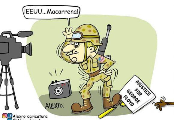 Caricatura: ¡Macarrena!