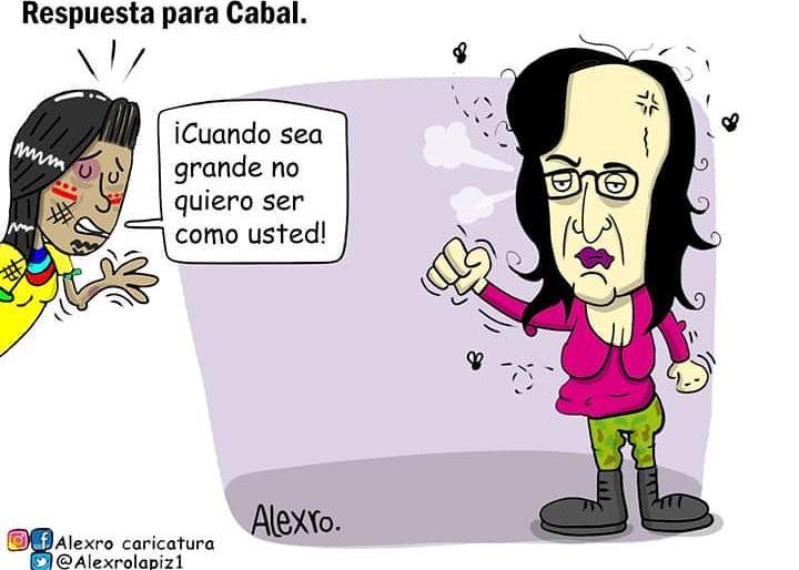 Caricatura: Respuesta para Cabal