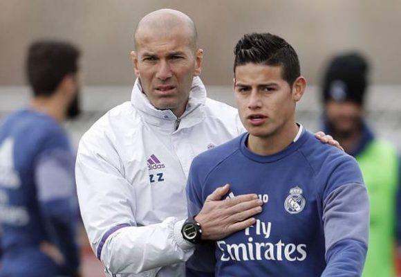 Ponerlo de defensa: la última humillación de Zidane a James