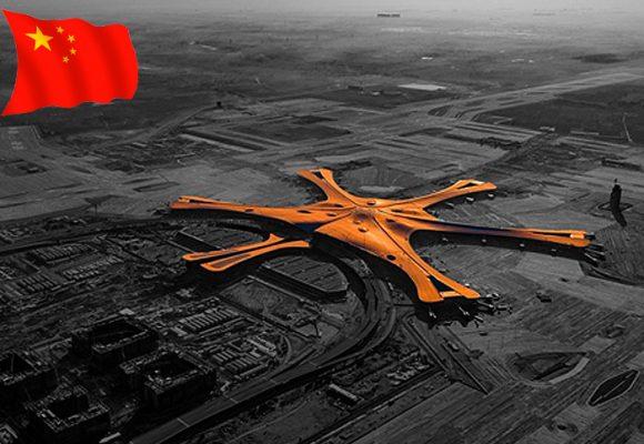El impresionante aeropuerto de Bejing inaugurado antes de la pandemia