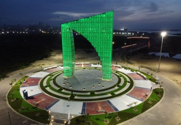 La Aleta se pone verde en honor a las víctimas de la ELA