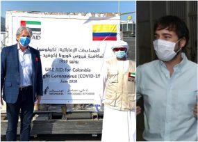 El embajador en los Emiratos Árabes, Jaime Amín, trabaja por su tierra Barranquilla