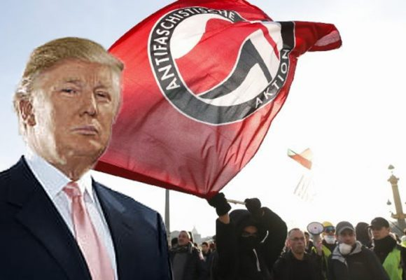 Reaparecieron los antifascistas: todos contra Trump