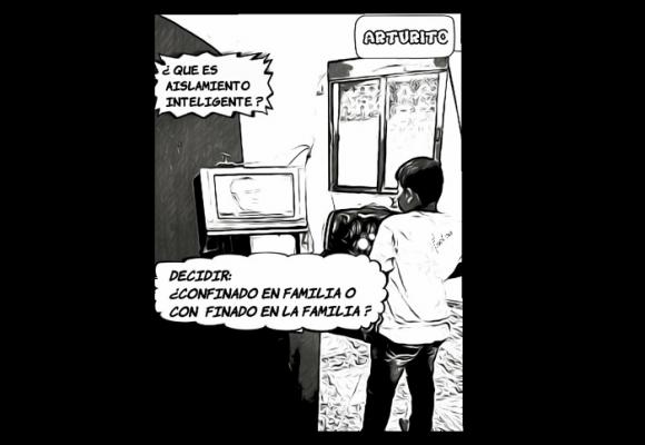 Caricatura: Confinados