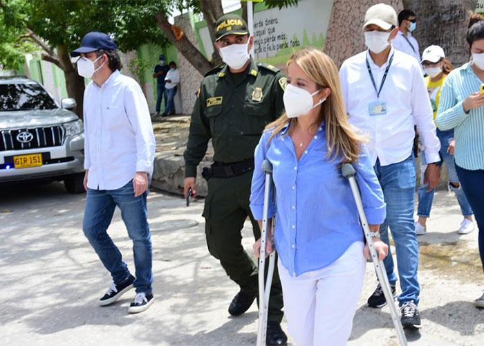 Elsa Noguera endurece medidas de aislamiento en cuatro municipios del Atlántico