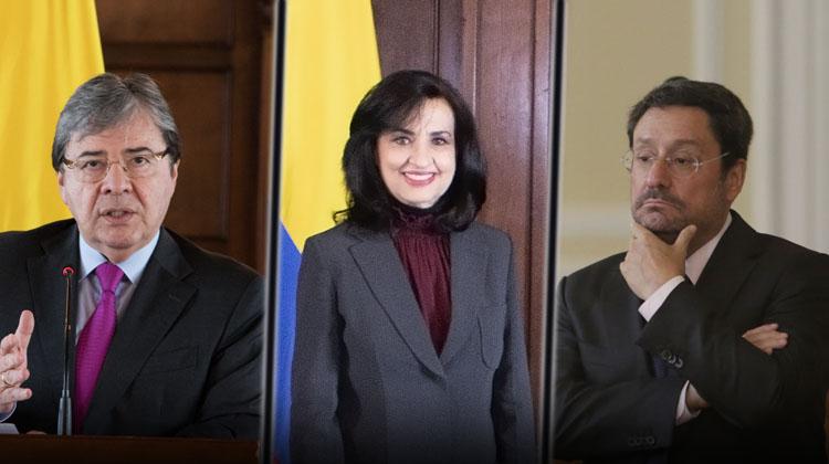 Carlos Holmes Trujillo, Claudia Blum y Francisco Santos denunciados ante la Procuraduría