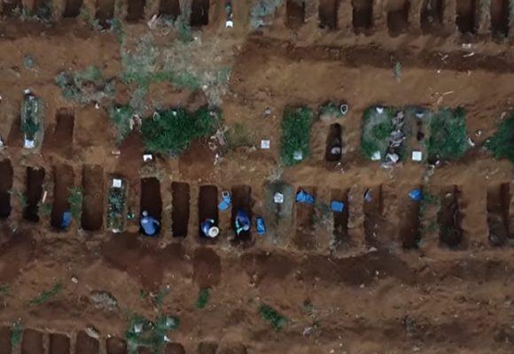 Con 34 mil muertos Brasil empieza a convertirse en un cementerio