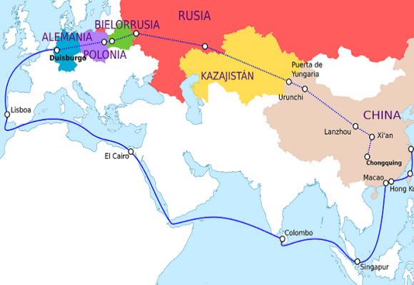 ¿Y el futuro de la nueva ruta de la seda china qué?