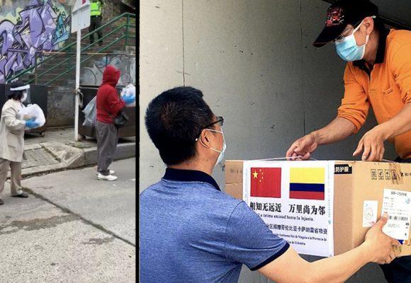 Chinos en Colombia: una mano solidaria