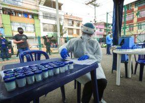 12.105 nuevos contagios y 282 fallecidos más por Covid-19 en Colombia