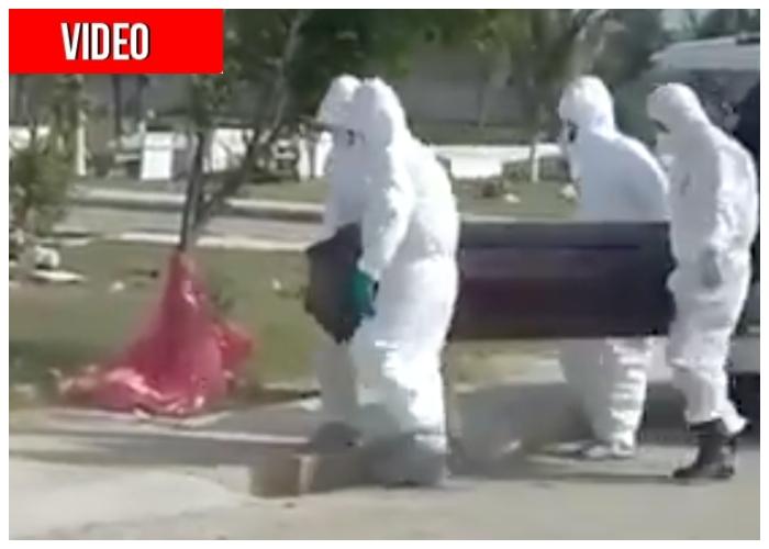 Los tristes entierros en Barranquilla